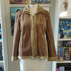 Jackets & Blazers - Vintage | Faux Fur Suede Shearling Jacket